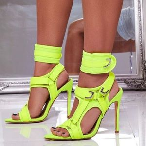 Neon Heels by Ego Shoes